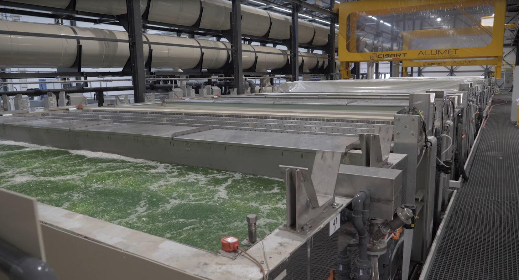 impianto alumet cisart